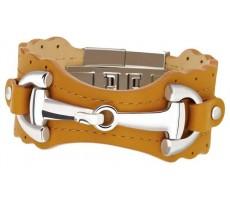 Bracelet en cuir ZEADES femme