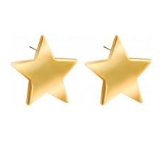 Boucles d'oreilles étoile
