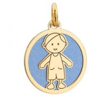 Médaille enfant garçon