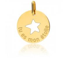 Médaille enfant étoile