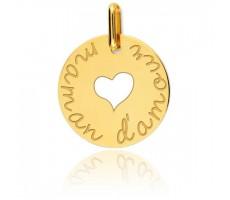 Médaille enfant coeur