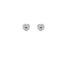 Boucles d'oreilles coeurs