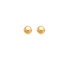 Boucles d'oreilles or jaune