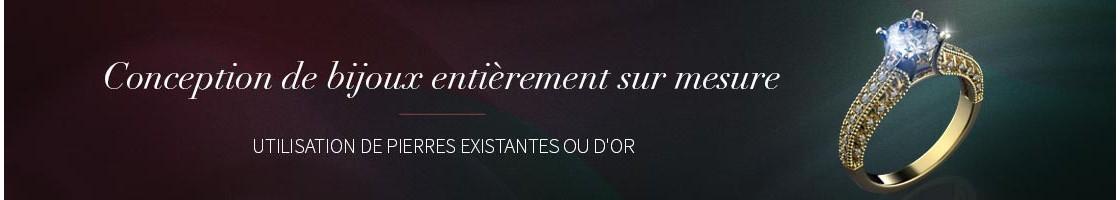 Conception de Bijoux Sur-Mesure | Orfèvrerie Coeur d'Or